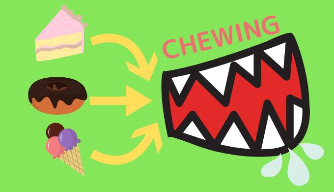 飲み込まず吐き出す「チューイング」はダメなダイエット方法なのか?